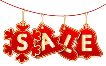 Christmas Sale is coming to the town…