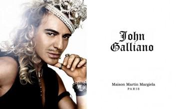 Galliano újra egy párizsi divatház élén
