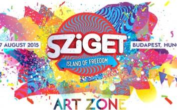 Sziget Festival ArtZone - Művészet a Szigeten